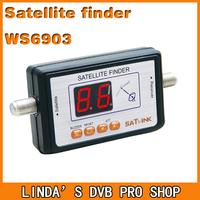 Original Satlink WS6903 satellite meter Satlink 6903 Digital Displaying Satellite Finder Meter free shipping