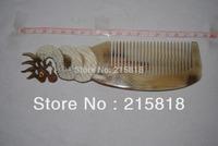 Black Color  Skin Care Buffalo Animal Massager Comb Horn  VS-H014