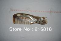 Black Color  Skin Care Buffalo  VS-H015 Animal Massager Comb Horn