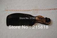Black Color  Skin Care Buffalo Animal VS-H009 Massager Comb Horn