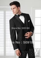 High quality customized tuxedo design male suits 5 pcs terno masculino (Coat+Pants+Vest+tie+Shirt)TZ013 design men wedding suit