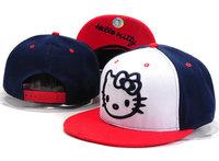 Cheap Hello Kitty Hats Snapback Hats Blue White And Pink Hip Hop Caps,Girls Caps Women Snapbacks Free Shipping !