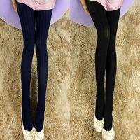 nz216 Free Shopping 1pcs 5color new 2014 spring and autumn thin leg female hook silk tide socks Japanese grain velvet pantyhose
