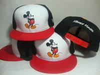 Cheap Cartoon Snapback Hats,Mickey Mouse,Baseball Caps Men And Women Snapbacks Freeshipping