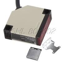 Specular Type E3JK-R4M1 Photoelectric Sensor Switch Detection Distance 4m