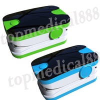 wholesale 2014 Hot Sale Finger Pulse Oximeter SPO2 PR Oxygen Monitor Wear-proof 6 Modes Sound Alarm 6 Modes 5 Colors 10 pcs/lot
