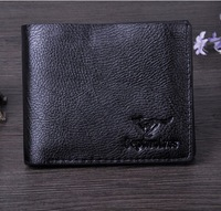 Free shipping! High quality Cheap Men's Fashion vintage leather Short Design wallet male wallets man purse