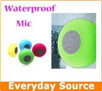 HiFi Waterproof Wireless Bluetooth Speaker Handsfree Mic Sucker Outdoor Car Stereo Sound Box DHL SHIP