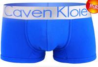 High Quality 1 Piece Cotton/Lycra Sexy Men Boxer Shorts Men's Boxer 20 Colors Underwear Man Sexy Underwear Size M/L/XL/XXL