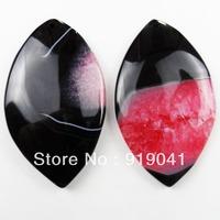 K1406 Free Shopping Beautiful Romantic Druzy Geode Agate pendant bead 2pcs/lot