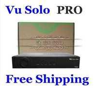 Vu Solo PRO BCM7325 BlackHole Linux DVB-S2 HD PVR TV Satellite Receiver Support More Official Software Free Shipping 2pcs