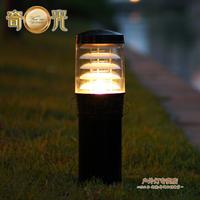 Garden lights aluminum die casting waterproof led lawn garden grass light cap 220V 10W LED Light Bulb