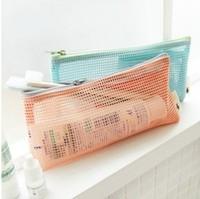 Mesh travel storage bag wash bags cosmetic bag mesh bags
