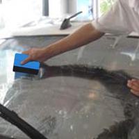 1pcs Car Squeegee Decal  Vinyl Plastic  Wrap Applicator Soft Felt for Edge Scraper Drop Shipping Wholesale