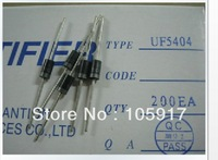 Spot supply  100 pcs/package  Super fast recovery diode   UF5404  DO-27 3.0A  400V  Ensure the quality