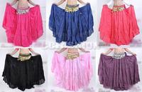 New Fashion Belly Dance Costume Tribal Gypsy Skirt Dancing Dress Linen Dancewear