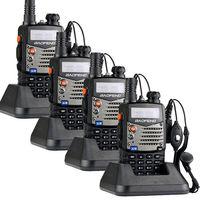 Free Shipping!4 pcs/ lot New Version Baofeng UV-5RA Dual-Band 136-174/400-480 MHz FM Ham Two-way Radio