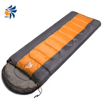 Outdoor sleeping bag winter thickening thermal single double patchwork ultra-light envelope adult sleeping bag