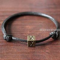 Fashion vintage male bracelet jewelry letter lovers bracelet
