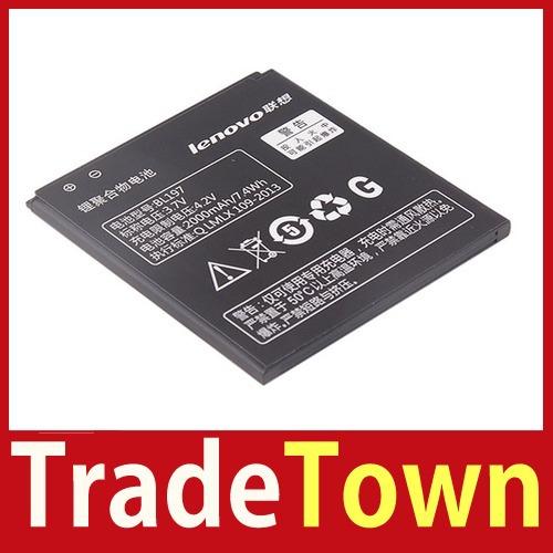 TradeTown Original Lenovo A820 A820T S720 Smartphone Lithium Battery 2000mAh BL197 3 7V wholesale