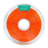 Free shipping hot selling winbo 3d printer plastic filament orange pla filament 1.75mm 1 kg transparent reel
