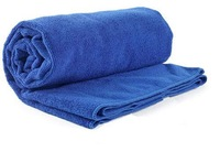 Soft New 60x160CM Blue Car Wipe Cloth Wash Cleaning Washing Towel Micro Fibre drying for waxing/polishing