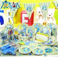 Boy party supplies baby birthday decoration birthday party supplies free EMS