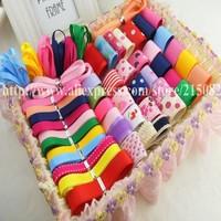Diy hair accessory hairpin kit child handmade bow material bundle ribbon set