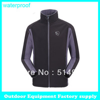 Dropshipping 2014 new fashion hiking jackets windstopper warm sportswear Climbing outdoor softshell jacket men tactical