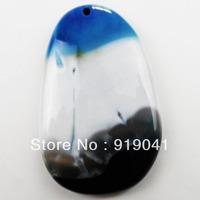 K1438 Free Shopping Beautiful Romantic Onyx Agate pendant bead 1pcs/lot