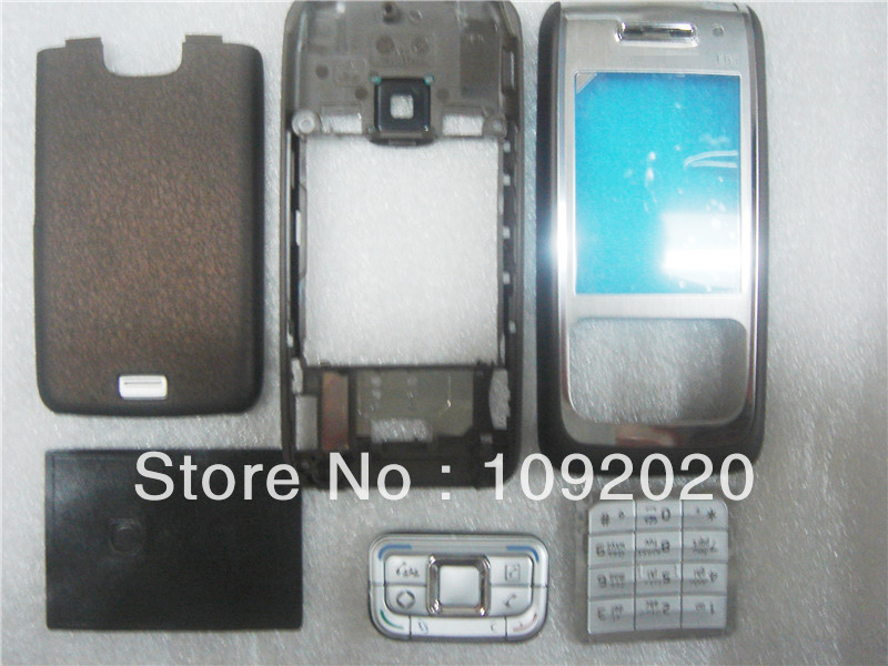 Free Shipping Full cover Housing For Nokia E65 repair part(China (Mainland))