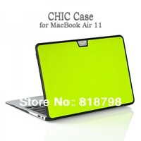 "For Macbook Air 11"" Case,High Quality Fashion Fluorescent color Protective Chic Case Cover backpack, freeshipping"