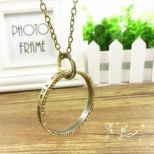 popular diamond circle pendant