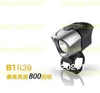 Free shipping Fenix BTR20 Bicycle Light 800 lumens li rechargeable battery kit