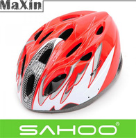 SAHOO Bike Riding Protection 18 Holes with LED lighting Road Bicycle Helmet Split type Men's Tour of France Cycling