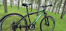 versandkostenfrei 26 zoll dark horse 21-gang doppel-scheibenbremse Geschwindigkeit mädchen Mann frau mountainbike mountainbike 18(China (Mainland))