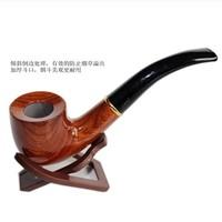 Free Shipping Large red sandalwood smoking pipe handmade redwood smoking pipe tobacco 8 set