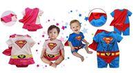 "New baby boys girls bodysuit one-piece""super baby "" bodysuit kid outfits"