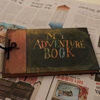 Blue Bai stationery--Korea stationery Cute cartoon My adventure book photo album clipbook 355