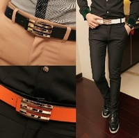 2014 Hot Sale Men's Belt Korean-style Narrow Belt Freestyle Thin Belt Wholesales PYP037