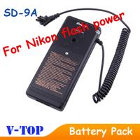 2014 New SD-9A 8 AA External Flash Battery Pack for Nikon SB-900 SB900 Camera - Hongkong Post Free Shipping
