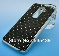 NEW hot 1 pcs 10 colors High quality luxury shining stars Chrome Rhinestone case for LG Optimus G2 E940 + Screen Protector
