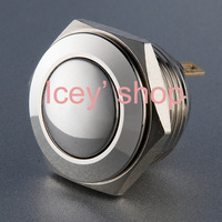 Metal push button switch V16 (16mm) 48Vdc Momentary