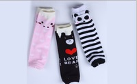 2014 Free shipping wholesale boutique  kids socks For Cute Animal pattern,10 pairs/lot