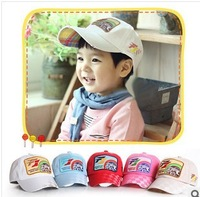 new arrival  free shipping 6M-2years old Baby F1 car baseball cap, Autumn and Spring baby hat