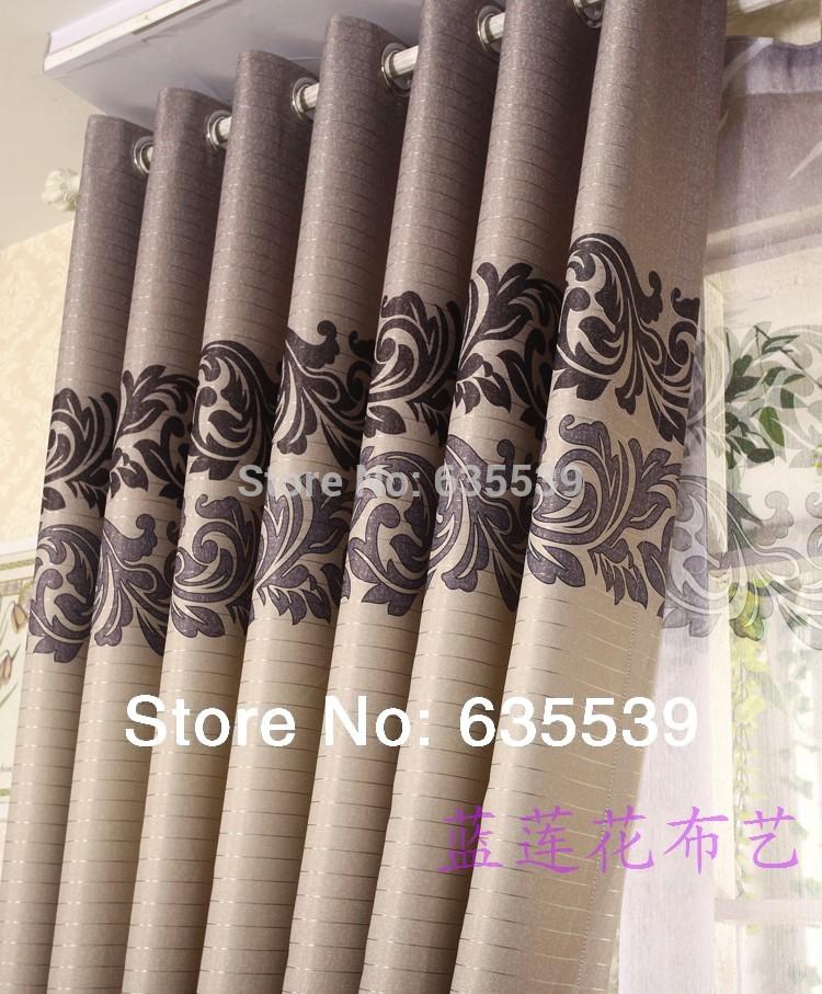 living room curtains set free shipping al por mayor de alta ...
