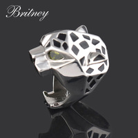 New arrival platinum plated women leopard ring,high quality punk Ring ,fashion Jewelry accessory free shipping  RW045