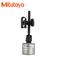 100% Made in Japan  Mitutoyo 7014 Mini Magnetic Stand, 6mm/8mm Stem Mounting and Dovetail for  Test Indicators