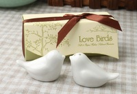 Wedding favors 50pairs =100 pcs Love Birds Salt and Pepper Shaker Party favors