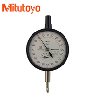100% Made in Japan itutoyo 2109S-10Dial Indicator 0.001mm  1um 0-10mm